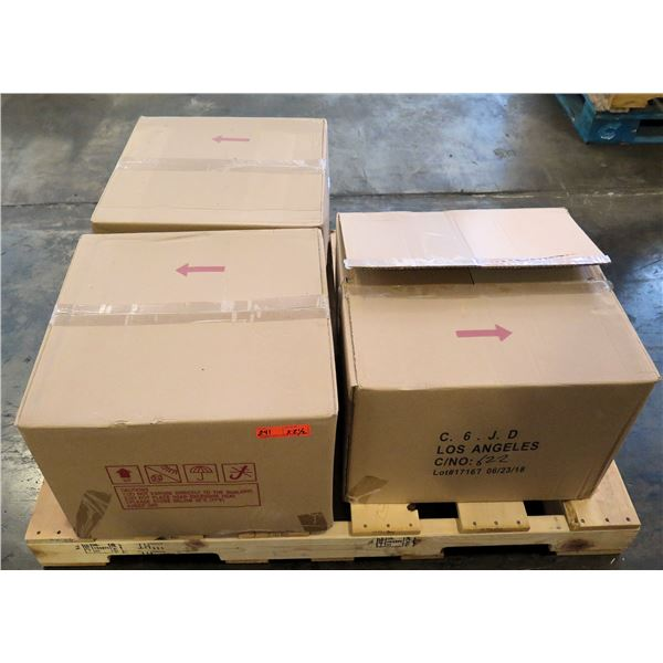 Qty 2.5 Boxes PVC Shrink Band Preforms Clear Square Containers