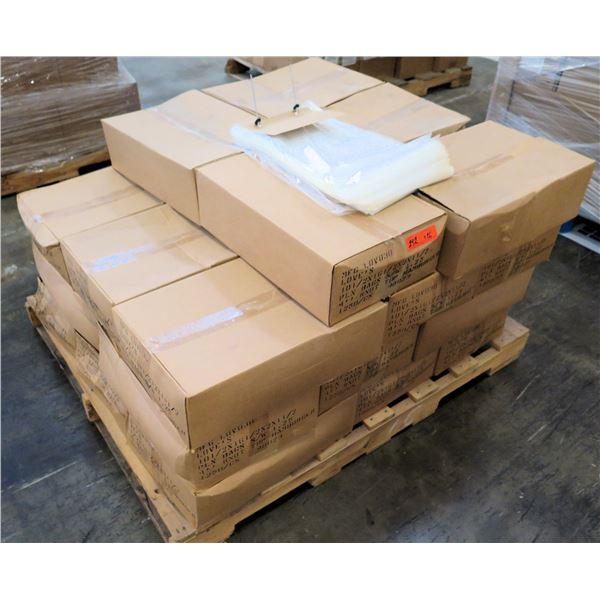 Qty 26 Boxes Love's Plain Hamburger Bun Clear Bags