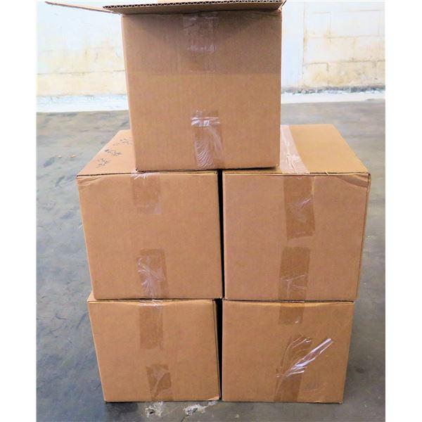 Qty 5 Boxes Clean Life Hand Sanitizer 16oz Bottles