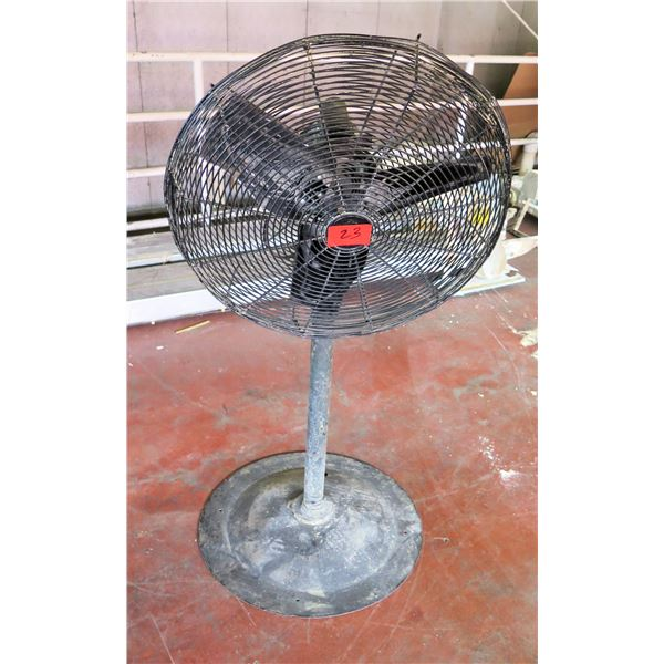 Dayton Pedestal Warehouse Fan #2LY97B