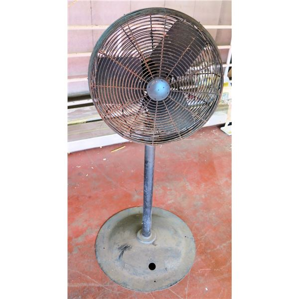 Metal Pedestal Warehouse Fan