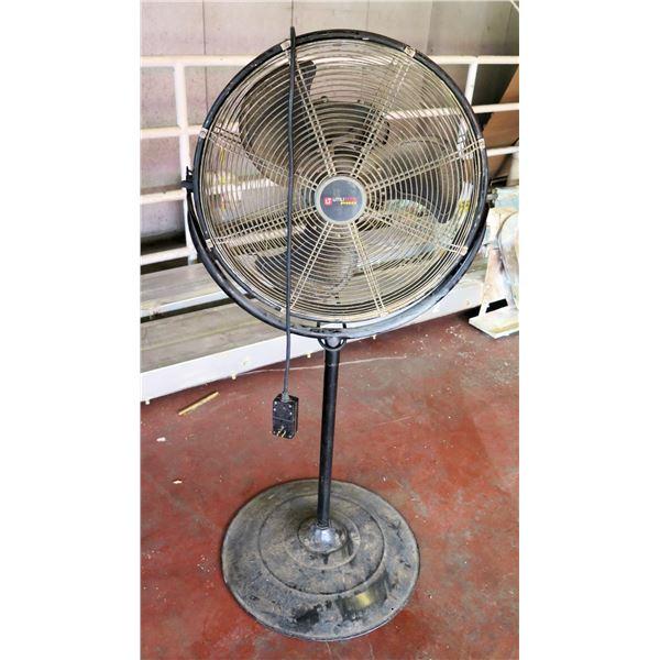 Utilitech Pro Metal Pedestal Warehouse Fan