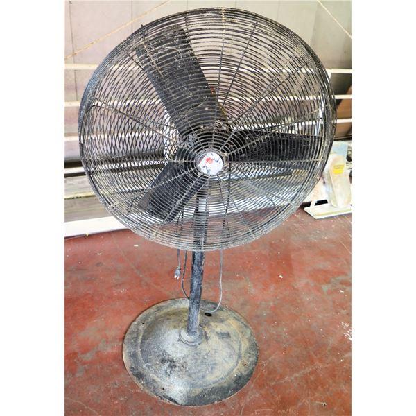 Dayton Pedestal Warehouse Fan #1RWB5B