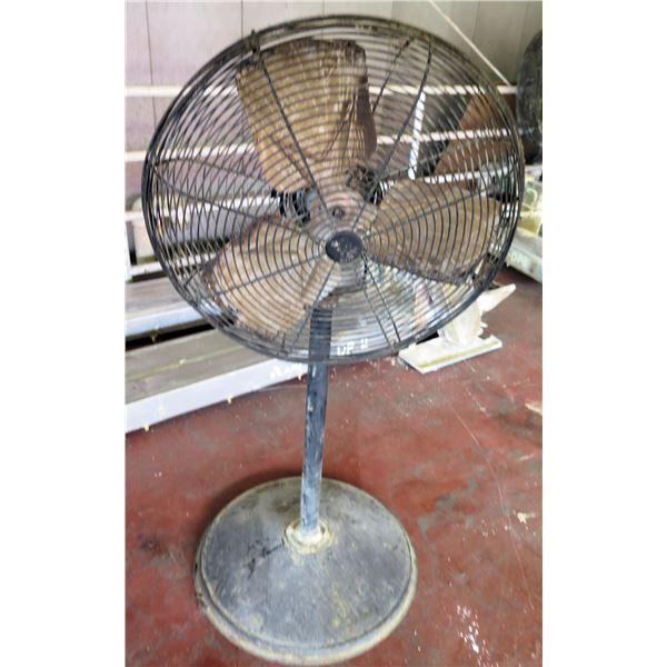 Metal Pedestal Warehouse Fan #2ATC4