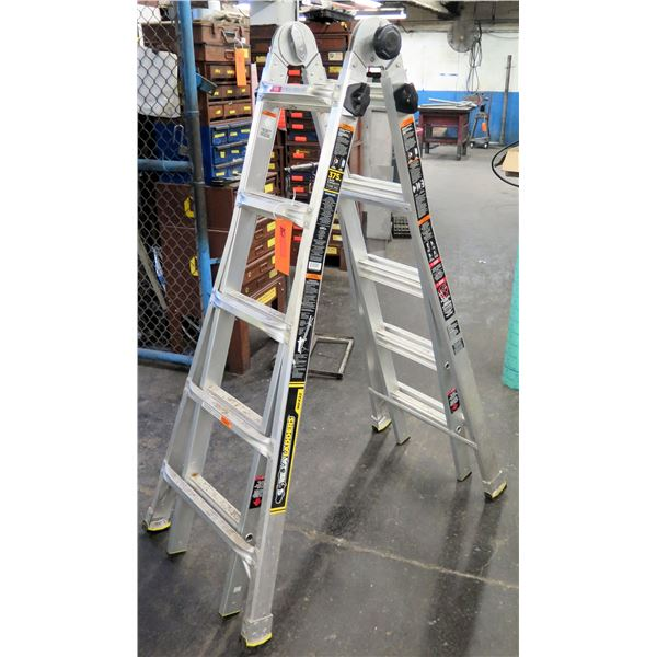 Gorilla Ladders MPX22 Type IAA Multi Position Ladder 375 Lb Load Capacity