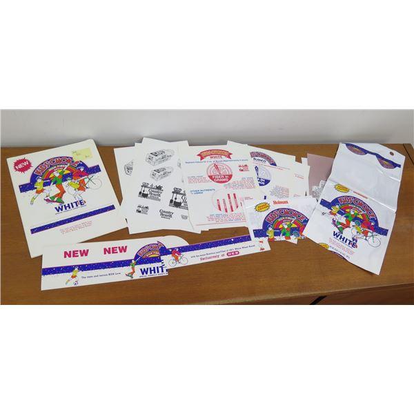 Multiple Kid's Choice High Fiber White Art, Roman Meal & Country Hearth Info
