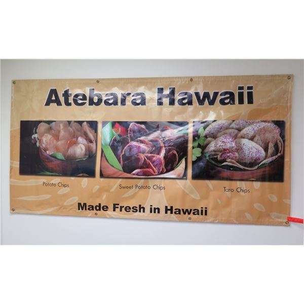 Atebara Hawaii Potato Chips / Sweet Potato Chips / Taro Chips Banner