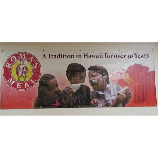 Roman Meal A Tradition in Hawaii for Over 30 Years Banner