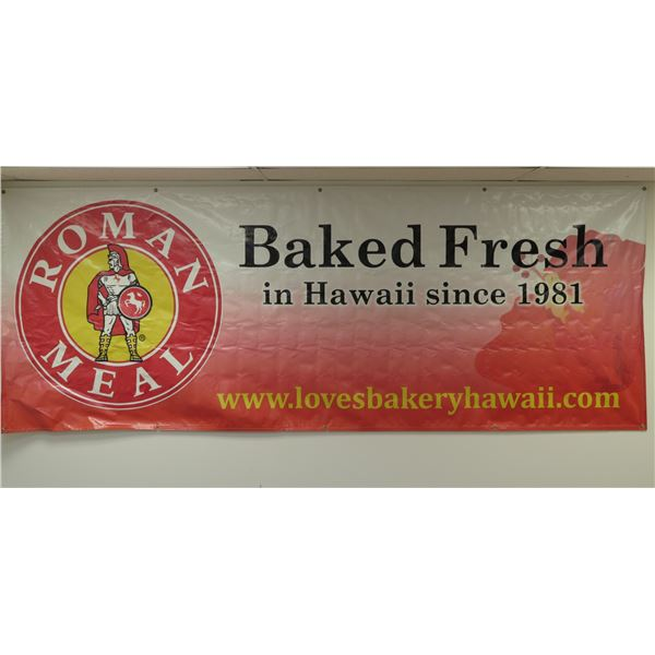 Roman Meal Baked Fresh In Hawaii Since 1981 Banner