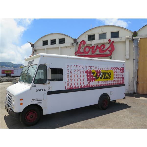 1986 Ford Bread Delivery Step Van Truck, Aluminum Body (#409) - Starts & Runs, See Video