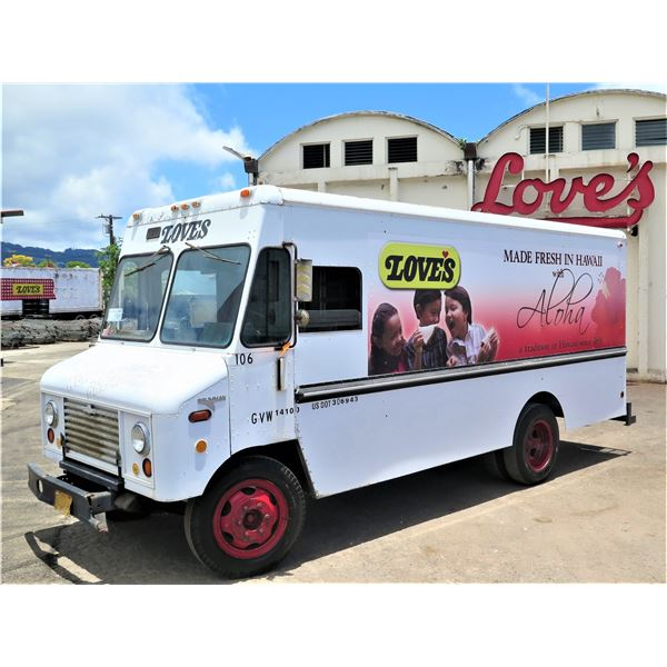 1979 Ford Bread Delivery Step Van Truck, Aluminum Body (#106) - Starts & Runs, See Video