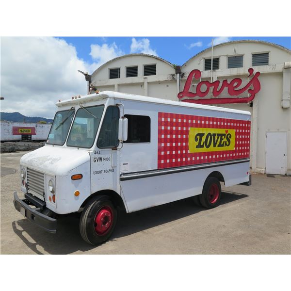 1979 Ford Bread Delivery Step Van Truck, Aluminum Body (#464) - Starts & Runs, See Video