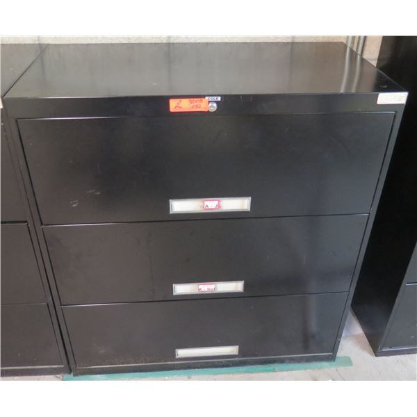 """Cole Metal 2-Drawer Lateral File Cabinet 36""""x18""""x40""""H"""