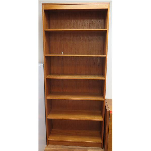 """Wooden 6-Tier Adjustable Shelf 35""""x13""""x84""""H"""
