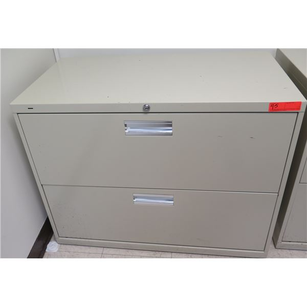 Metal 2-Drawer Lateral File Cabinet