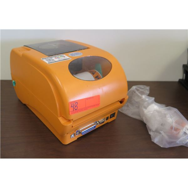 Dura Label Pro 300 Industrial Label Printer w/ Roll of Labels