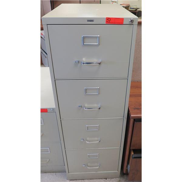 RealSpace Metal 4-Drawer File Cabinet