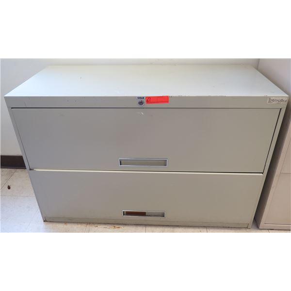Cole Metal 2-Drawer Lateral File Cabinet