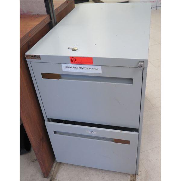 Senetics Metal 2-Drawer File Cabinet