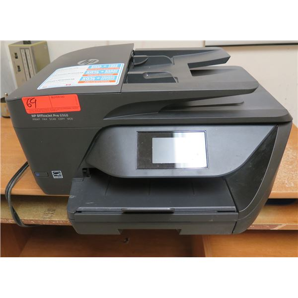 HP OfficeJet Pro 6960 Multi-Purpose Inkjet Printer