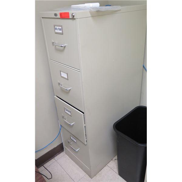 Office Depot Metal 4-Drawer Filing Cabinet