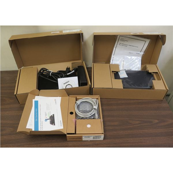 Qty 2 HPE Office Connect 1920S Switches & Cradlepoint Router in Box