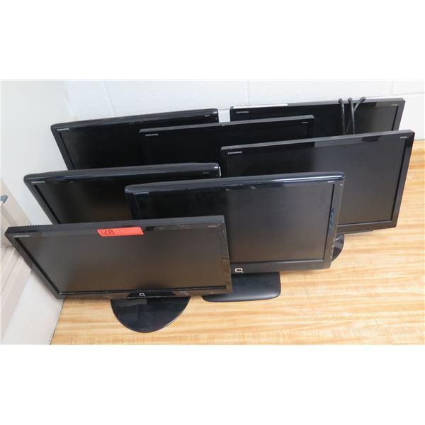 Qty 7 Compaq  Flat Screen Monitors