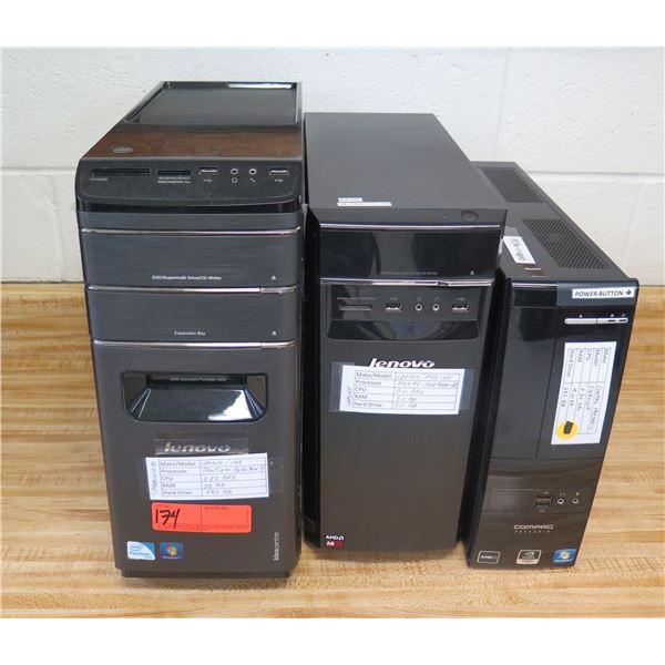 Lenovo 1168 Tower Computer, H50-55 Supermulti Drive, Compaq Presario CQ4010F