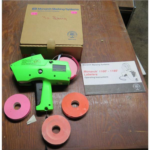 Monarch Marking 1166 Green Machine w/ 1160-1185 Label Rolls