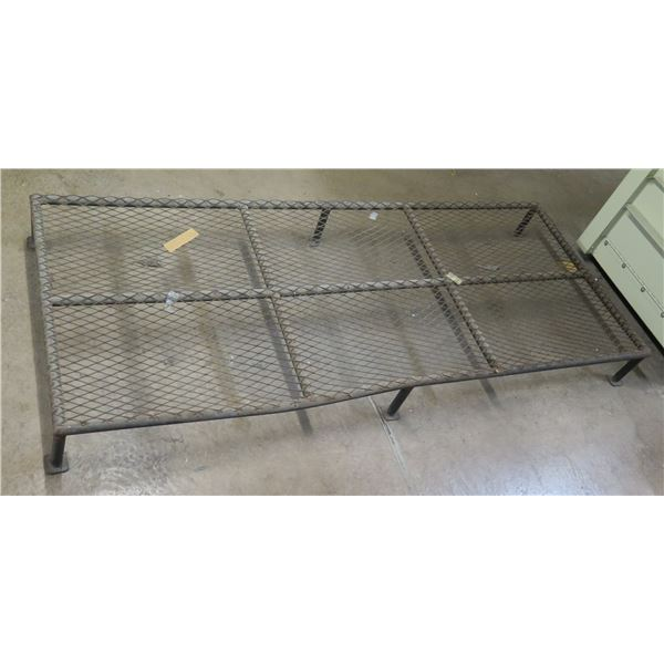 """Low Wire Mesh Stand 72""""x30""""x8""""H"""