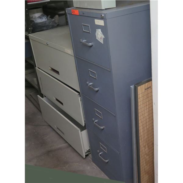 HON Metal 4-Drawer & 3-Drawer Lateral File Cabinets