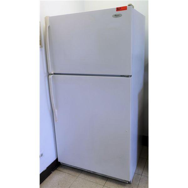 Whirlpool Full Load Refrigerator ET1FTKXKQ06 w/ Top Freezer w/ Countertop Storage