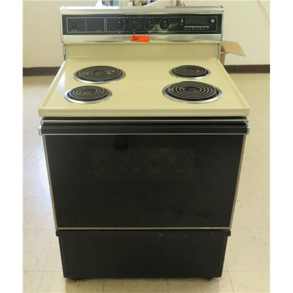Sears Range 911-9348810 4-Burner Stovetop & Oven