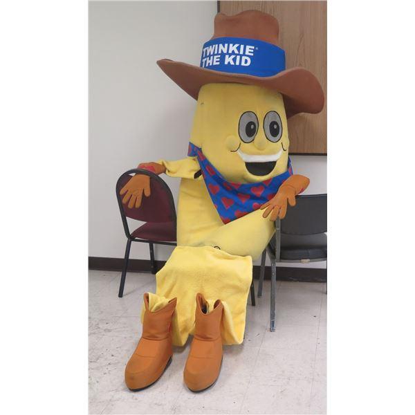 """""""Twinkie The Kid"""" Child's Costume w/ Multiple Twinkie Plastic Rings"""