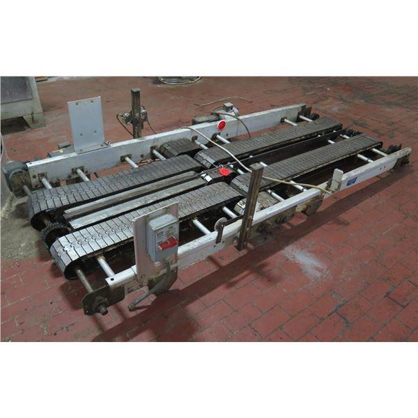 "Lanham Weg Dual Conveyor Belt System w/ Hubbell Circuit Lock 9'6""L x 48""W"