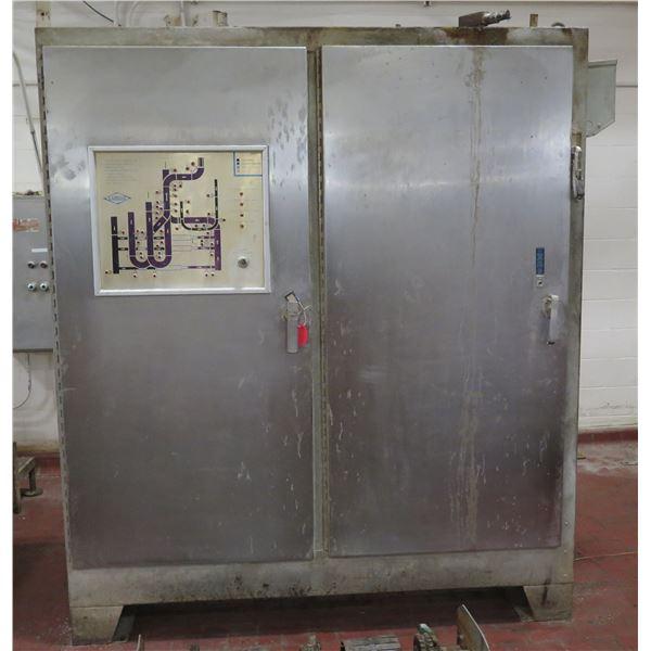 Lanham CP-6 Custom Metal 2 Door Cabinet w/ Moulder Panels