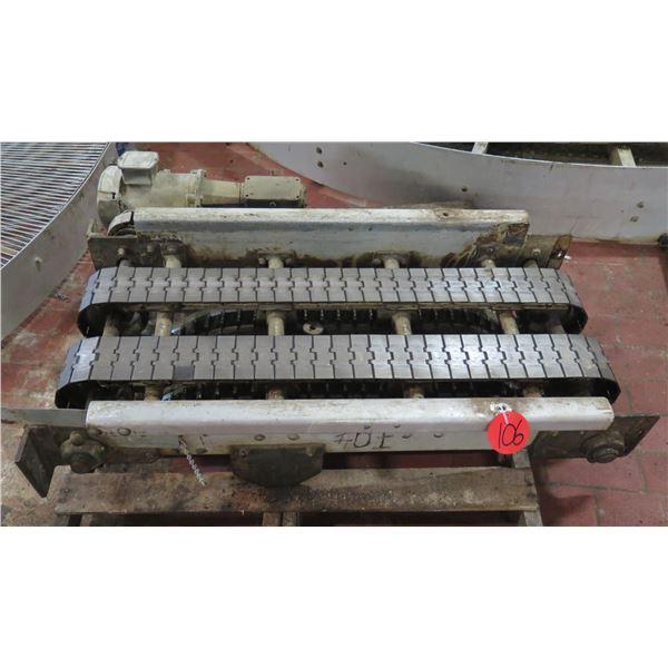 "Marathon Dual Conveyor Belt System PH3 CodeK 46""L x 23""W"