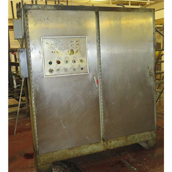 """Metal 2 Door Cabinet w/ Moulder Panels 78""""x19""""x90""""H"""