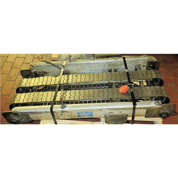 "Lanham Dual Conveyor Belt System 50""L x 24""W"