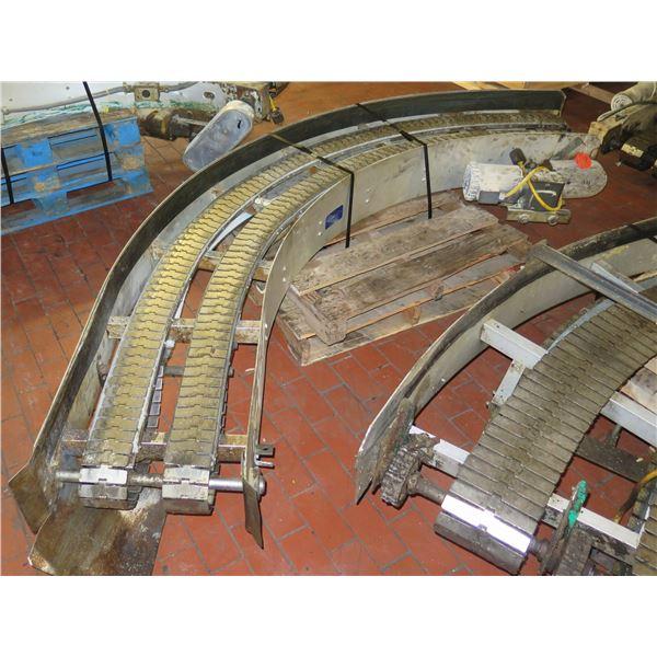"Lanham Semi-Circle Dual Conveyor Belt 10'4""L x 20""W"