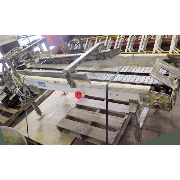 "Lanham Standing Dual Conveyor Belt System 86""L x 24""W"