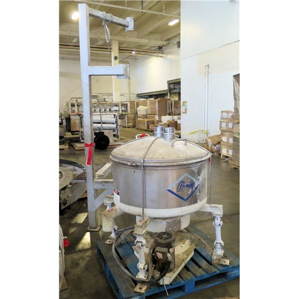 Pfening Metal Bowl w/ Lid & System