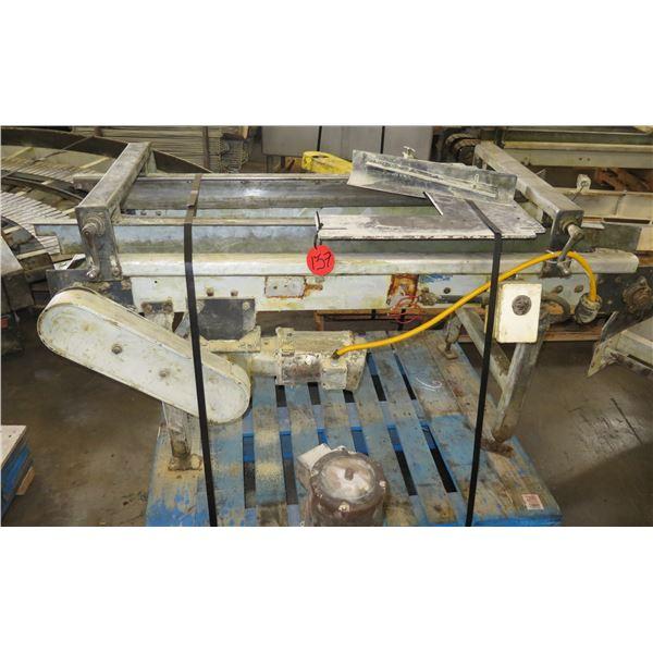 "Dual Conveyor Belt System 66""L x 24""W"