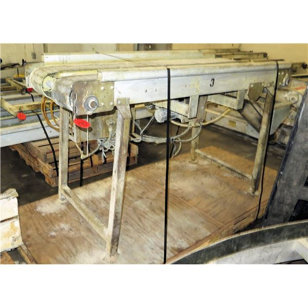 "Standing Dual Conveyor Belt System 74""L x 30""W"