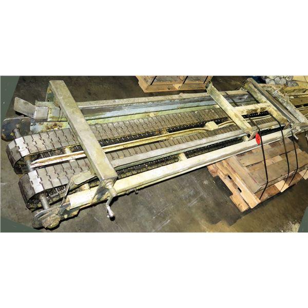 "Lanham Dual Conveyor Belt System 12'5""L x 24""W"