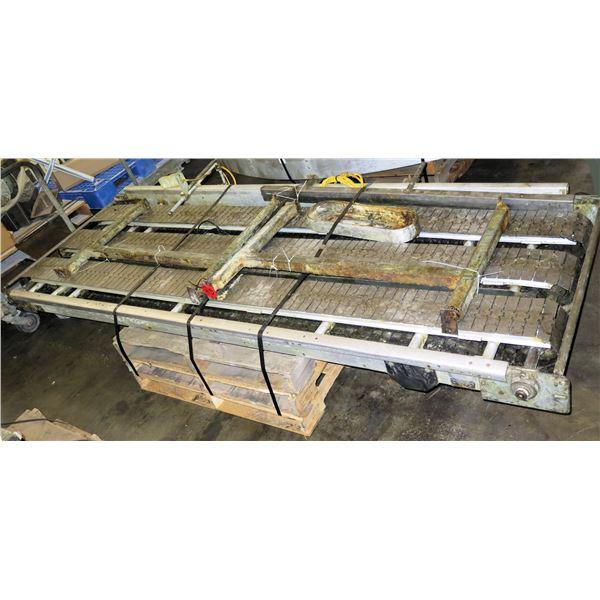 "Triple Conveyor Belt System 9'7""L x 42""W"