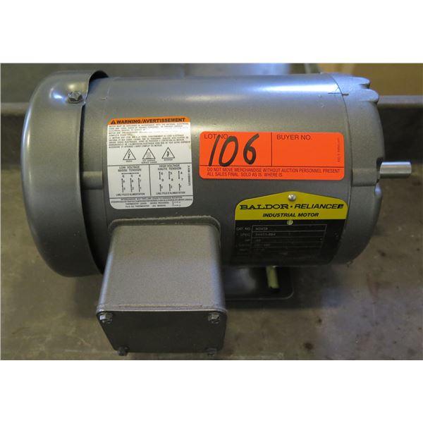 Baldor Reliance M3458 Industrial Motor