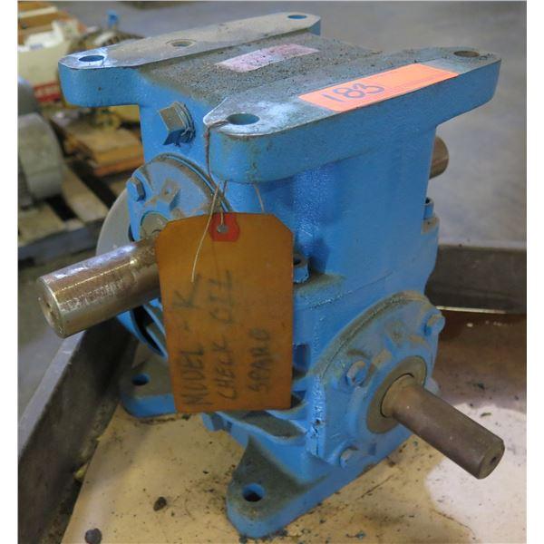 Morse 30RW 1-LR B&T Powergear Right Angle Reducer