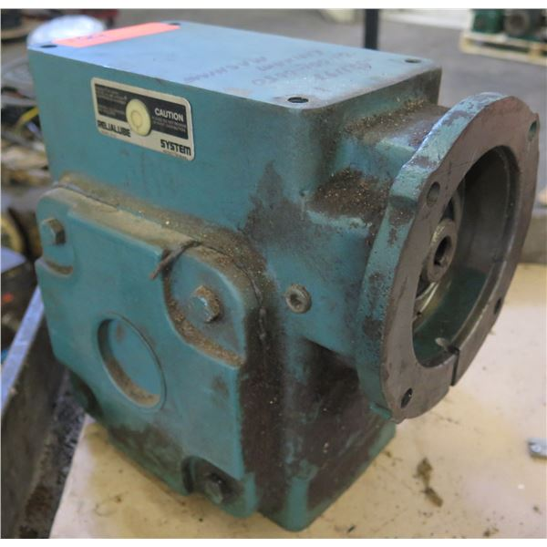 Reliance Electric Relialube System 01-009-0050 Gear Box