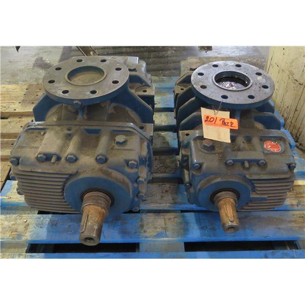 Qty 2 Aerzener Maschinenfabrik GMA 11.4 Positive Displacement Blower